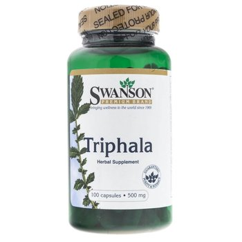 Swanson, Triphala 500 mg, 100 kapsułek-Swanson