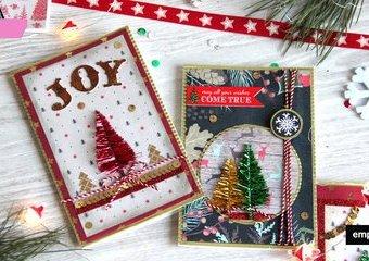 Świąteczne kartki DIY – pomysły, które świecą przykładem