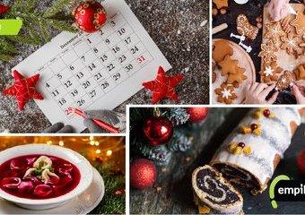 Świąteczny rozkład jazdy, czyli kalendarz kulinarnych przygotowań