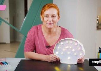 Świecąca muszla – jak samodzielnie złożyć stylową lampkę