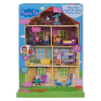 Świnka Peppa, domek rodzinny-Świnka Peppa