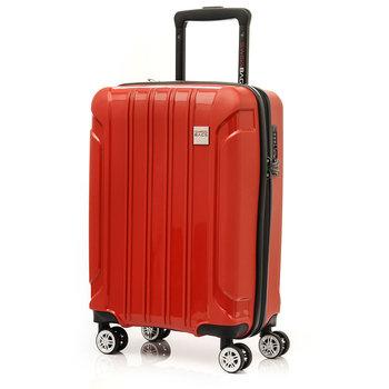 0928a84b74253 SwissBags, Walizka kabinowa, Tourist II, 55 cm, czerwona, rozmiar  uniwersalny