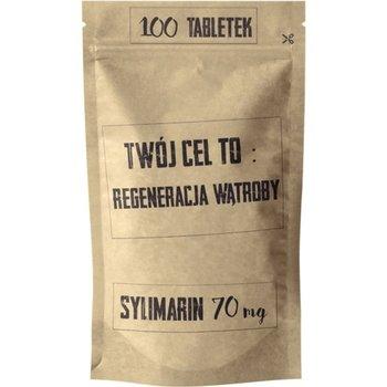 Sylimarin 100 Tabletek Twój Cel To: Regeneracja Wątroby 80 mg Simple Day-Simple Day