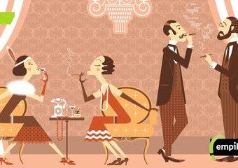 Sylwester w stylu lat dwudziestych
