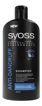 Syoss, Anti-Dandruff, szampon do włosów z łupieżem, 500 ml-Syoss