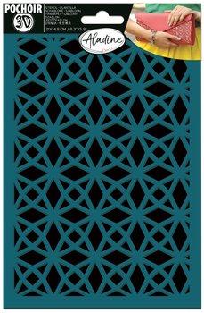 Szablon samoprzylepny 3D, geometryczny 2-Aladine