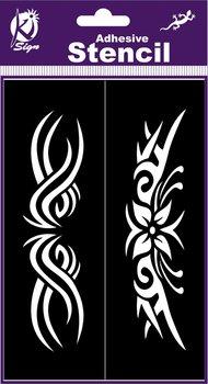 Szablon, tribal 8-Ki-Sign