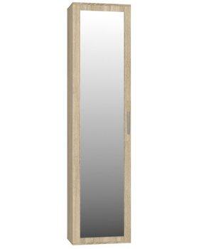 Szafa TOPESHOP Duo, dąb sonoma, 180x50x35 cm-Topeshop