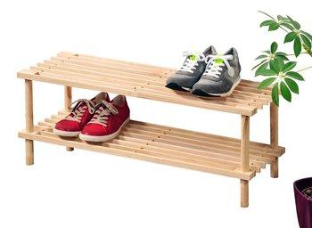 Szafka na buty KESPER, beżowa, 26x40x77 cm-Kesper