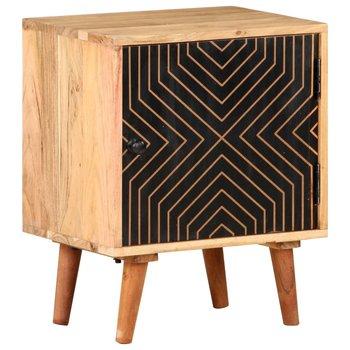 Szafka nocna, 40 x 30 x 50 cm, lite drewno akacjowe-vidaXL