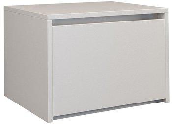 Szafka nocna ELIOR Reja, biała, 34x38x45 cm-Elior
