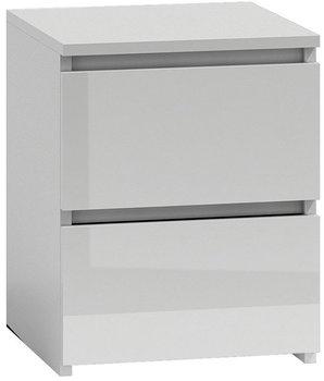Szafka nocna ELIOR Siena 4X, biała, 30x30x40 cm-Elior