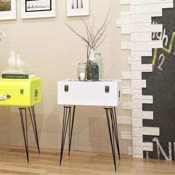 Szafka nocna vidaXL kształt walizki, 40x30x57cm-vidaXL