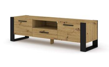 Szafka RTV komoda NUKA 160 cm dąb artisan stojąca-BIM Furniture