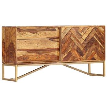 Szafka vidaXL, 118 x 30 x 60 cm, z litego drewna sheesham-vidaXL