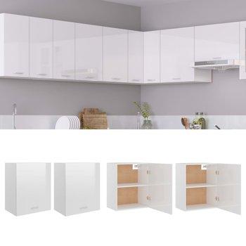 Szafki kuchenne, białe, 50x31x60 cm, 2 szt.-vidaXL