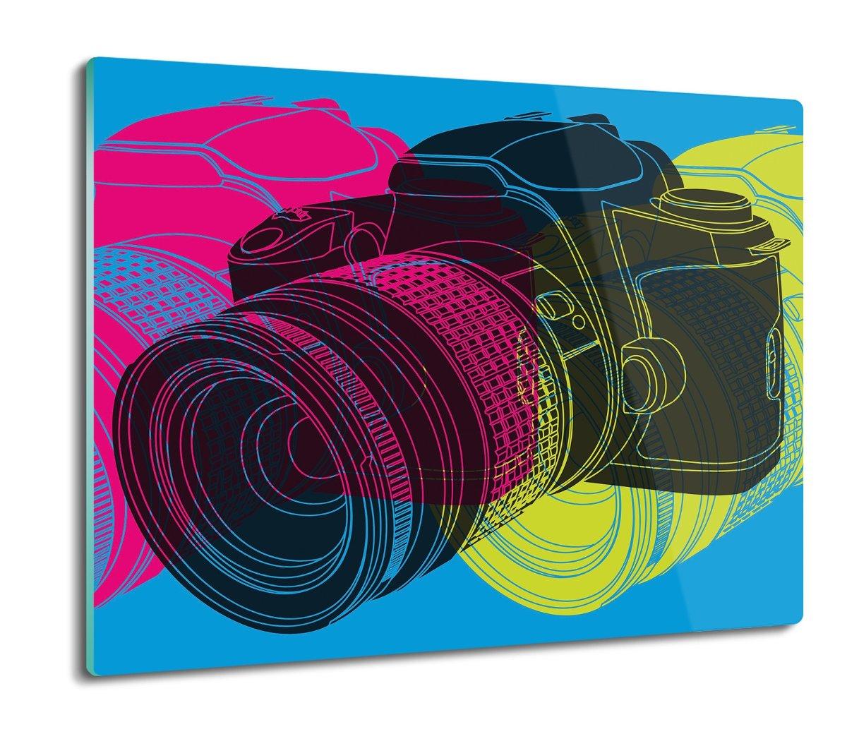 szklana osłona do kuchenki Lustrzanka aparat 60x52, ArtprintCave