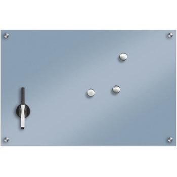 Szklana tablica magnetyczna, jasnoniebieska-Zeller