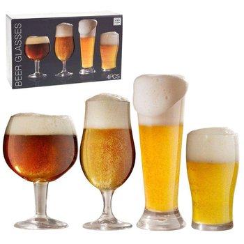 Szklanka do PIWA szklanki zestaw komplet szklanek 4 sztuki-ATMÓS FERA