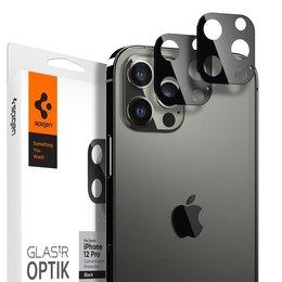 SZKŁO HARTOWANE na Apple IPHONE 12 SPIGEN OPTIK.TR CAMERA LENS BLACK