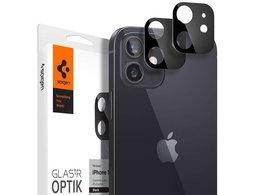 Szkło Spigen Optik.TR Camera Lens do Apple iPhone 12 Mini 5.4 Black