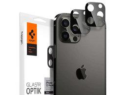 Szkło Spigen Optik.TR Camera Lens do Apple iPhone 12 Pro Max 6.7 Black