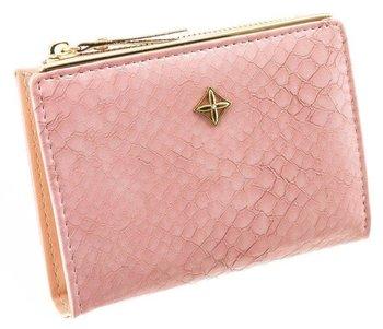 Szykowny markowy portfel damski skóra eko pudełko-Milano Design