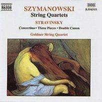 Szymanowski: String Quartets / Stravinsky: Concertino