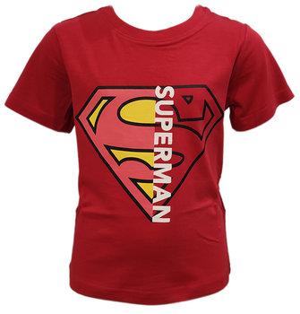 T-SHIRT CHŁOPIĘCY SUPERMAN KOSZULKA BLUZKA R134-SUPERMAN