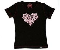 T-shirt damski z krótkim rękawem, Robalentynka