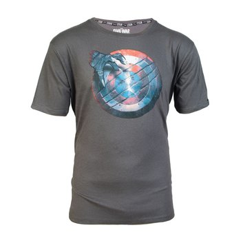 b290537d5 T-shirt, Marvel, Civil War, Captain America Shield, L ( ) - Cenega ...