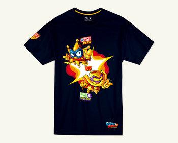 T-shirt SuperZings Golds, granatowy, 4-5 lat-Magic Box