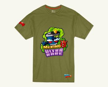 T-shirt SuperZings Mr King, zielony, 8-9 lat-Magic Box