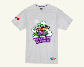 T-shirt SuperZings Profesor K, szary, 4-5 lat - Super Zings