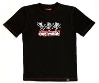 T-shirt z krótkim rękawem, Eat Meat