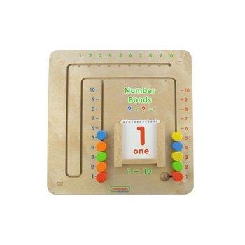 Tablica Gra Edukacyjna Łączenie Liczb Dodawanie Masterkidz-Masterkidz
