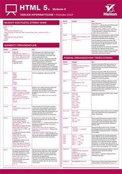 Tablice informatyczne. HTML 5. Wydanie II-Sokół Radosław