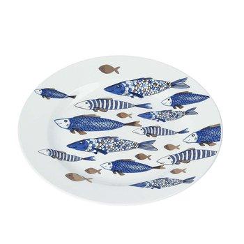 Talerz Fish 21cm, ⌀21 cm-Dekoria