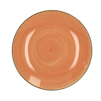 Talerz Laguna 26 cm terracotta, 26 cm-Dekoria