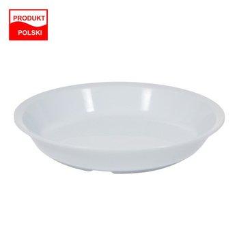 Talerz obiadowy głęboki o średnicy 21 cm Club Gastro bez BPA biały-SAGAD