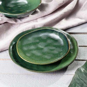 Talerz Tilos Green 20cm, ⌀20 cm-Dekoria