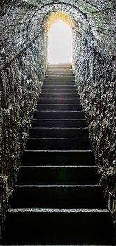 9b38ad12d492b Tapeta na drzwi: Mroczne schody, 100x210 cm - | Sklep EMPIK.COM