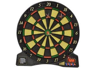 Tarcza do gry w darta, czarno-żółta
