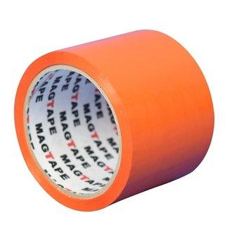 Taśma pakowa, pomarańczowa, 75 mm/50 yd