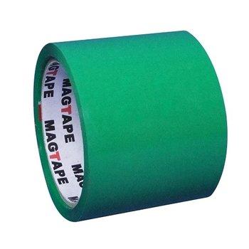 Taśma pakowa, zielona, 75 mm/50 yd