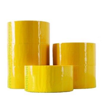 Taśma pakowa, żółta, 50 yd/48 mm