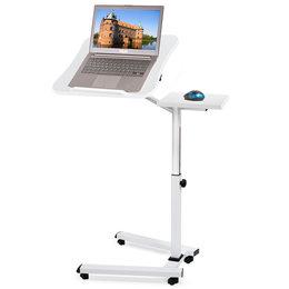 Tatkraft Like stabilny stolik pod laptopa na 4 kółkach
