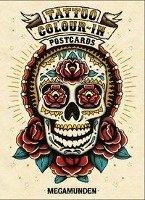 Tattoo Colour-In Postcards-Megamunden