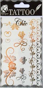 Tatuaże metaliczne, Różyczki-Ki-Sign