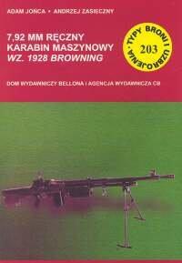 TBU 203. Ręczny Karabin Maszynowy WZ. 1928 Browning-Jońca Adam, Zasieczny Andrzej